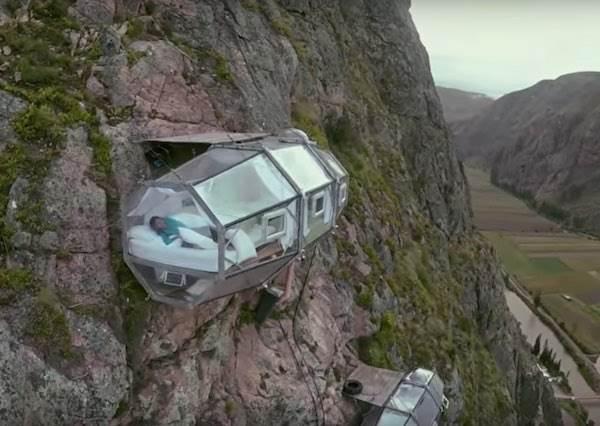 熱愛冒險的你,一生一定要睡一晚在這個130層樓高的秘魯聖地峭壁!