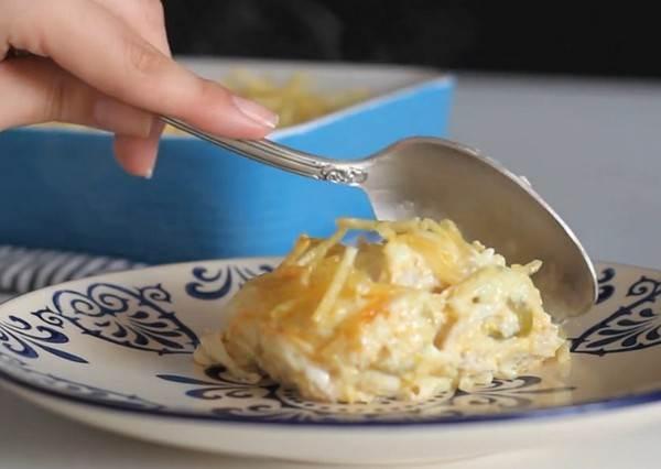 """會牽絲的奶油起司烤雞肉,竟然是靠""""果汁機""""完成的?!3步驟學簡單料理也能輕鬆上手"""