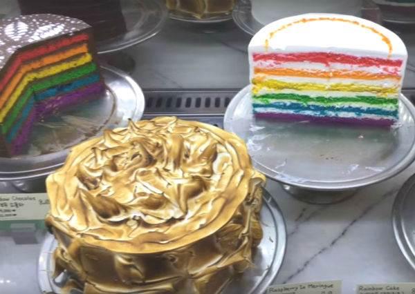 釜山甜點攻略!彩虹藏在蛋糕裡!