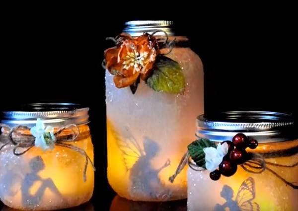 你會想把誰裝進瓶子裡?手作「小精靈紙影燈」感覺許願真的會成真!