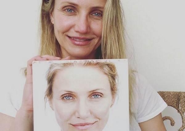 天后們素顏你還認得出來是誰嗎?43歲卡麥蓉狄亞大秀沒化妝自信美照超驚人!