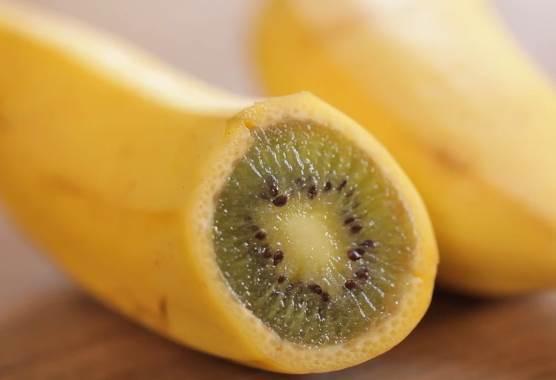 原來香蕉+奇異果一起種入土裡,就會長出新品體「Baniwi」? 早一點知道就好了!