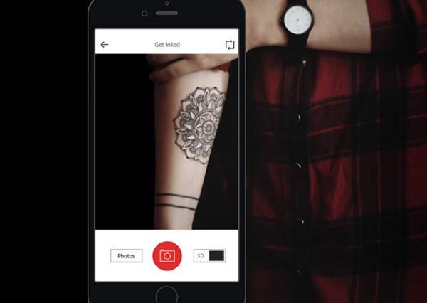 不必等刺了才後悔!超有趣手機app,讓你先預覽刺青後的成果!