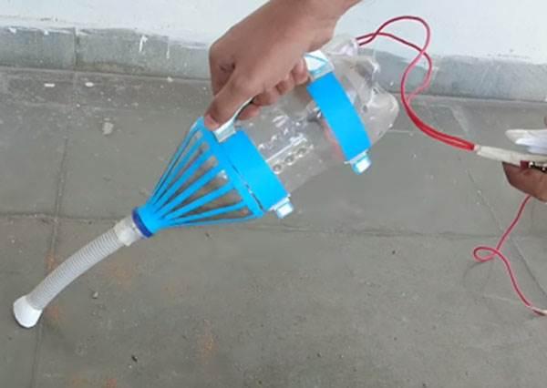 用寶特瓶做吸塵器「聽起來像不可能的任務」,但看到製作過程後,你會發現神人真的不是說說而已!