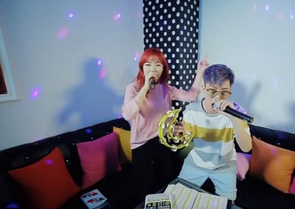 藝人KTV接力賽,YG最會唱兄妹檔LIVE再現粉紅泡泡冠軍曲《200%》,聽完都想戀愛了!