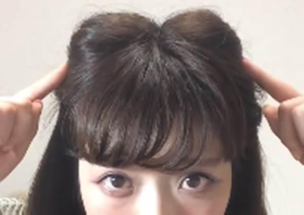 綁這個就能正大光明撒嬌啦! 賣萌度NO.1「貓耳髮型」,其實兩個橡皮筋就能完成?