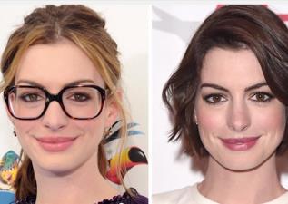 好萊塢時尚單品眼鏡帶來的魔力,讓好萊塢藝人們反差超大的!!!