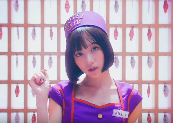 EXID新MV挑戰尺度!化身女僕極限誘惑,hani3:55的動作是否有點太害羞?!