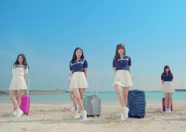 超青春!韓國女團正夯「行李箱舞」,可愛到沒出國也會想拿箱子出來一起跳!