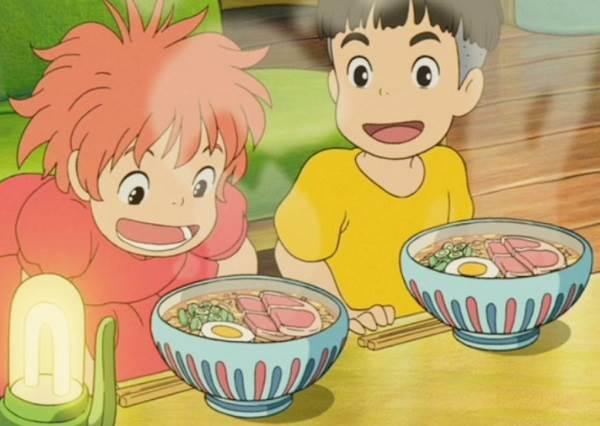 「波妞泡麵」百分百還原!讓你在現實生活中也能吃到宮崎駿動畫裡的美食