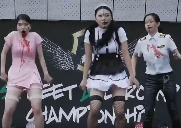 這才叫真的喪屍舞!3個韓國少女神演繹,舞蹈實力絕對讓你頭皮發麻!