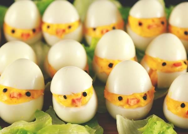 水煮蛋也能升級成宴客料理? 極易上手的「小雞蛋」萌到讓人捨不得吃
