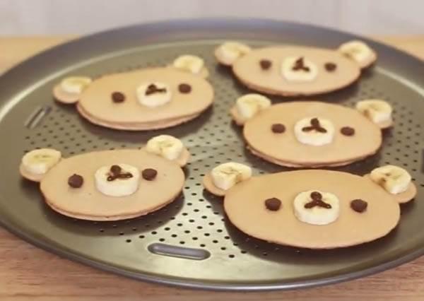 敲可愛《拉拉熊鬆餅》免模具也能做? 成功率百分百的關鍵工具你家絕對有!