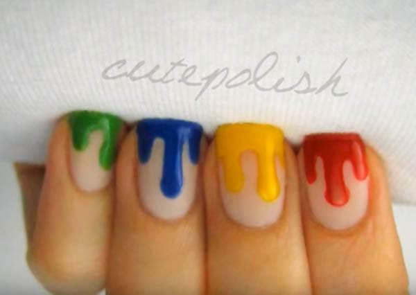 想畫出垂涎欲滴的「融化指甲」,關鍵訣竅:只要會寫「山」就不失手!?