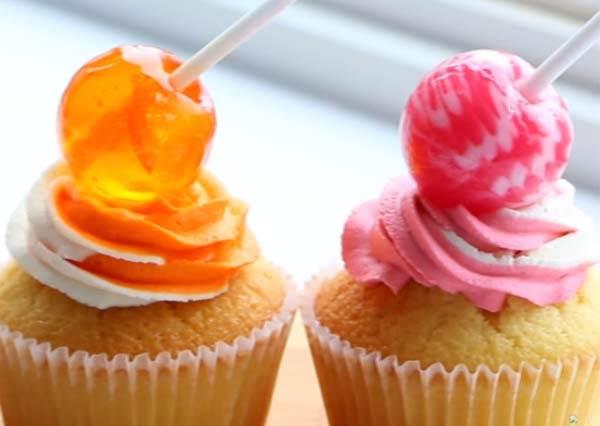 野餐派對新焦點!Lollipop Cupcake!