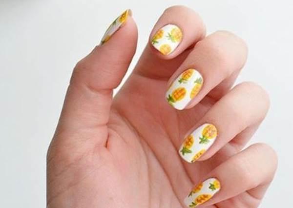 夏天就該補充維他命!「繽粉水果指彩」意外簡單,讓指間也JUICY一下!