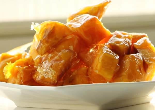 蜜糖拔絲地瓜 Sugar Coated Sweet Potato