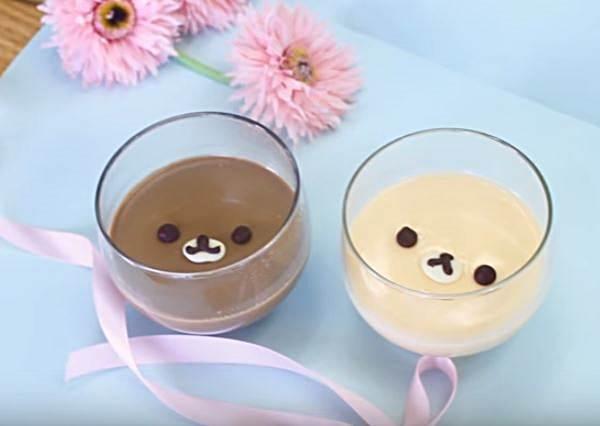 超萌拉拉熊布丁!日本妞教你3步驟做出可愛到不行的卡通甜點