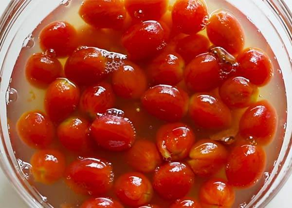 蜜漬小番茄 Honey & Lemon Marinated Cherry Tomatoes