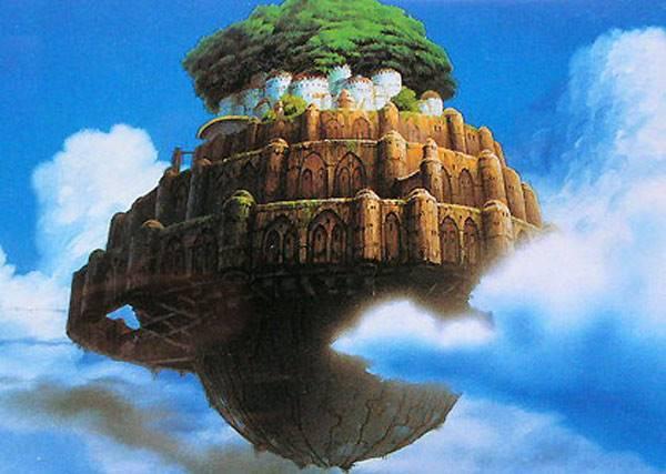 宮崎駿的天空之城我來建!網友花了四年時間,完美重現夢幻國度