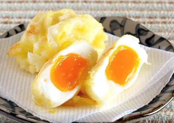 想DIY日本最新「雞蛋天婦羅」,關鍵竟然是要把蛋冷凍過!?
