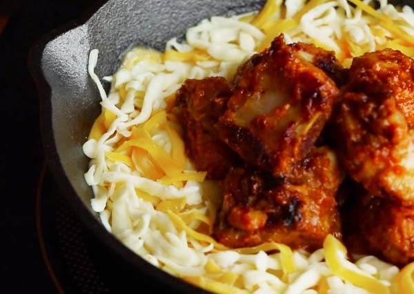 韓式起司排骨 Cheesy Korean Spicy Ribs