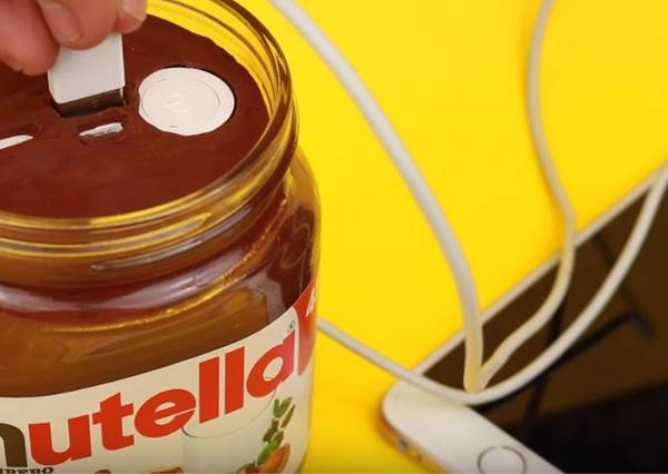 什麼?巧克力醬竟然也能充電? 知道真相後,大家都想自己動手做啦!