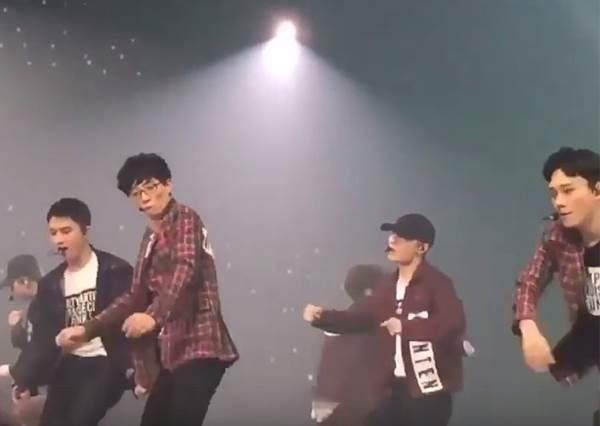 EXO有新成員!? 劉大神亂入演唱會,無違和完美唱跳讓人跪著看完!
