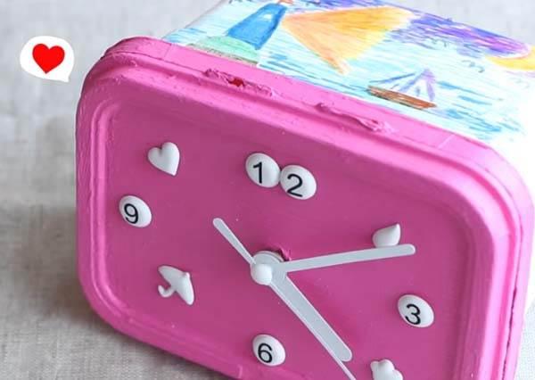打造獨一無二,收納盒時鐘 Storage Box Clock