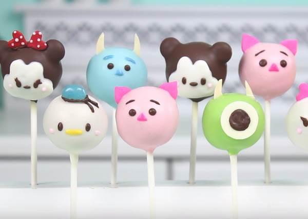 光看就被萌死了!Tsum Tsum蛋糕棒棒糖食譜,迪士尼控一定要看