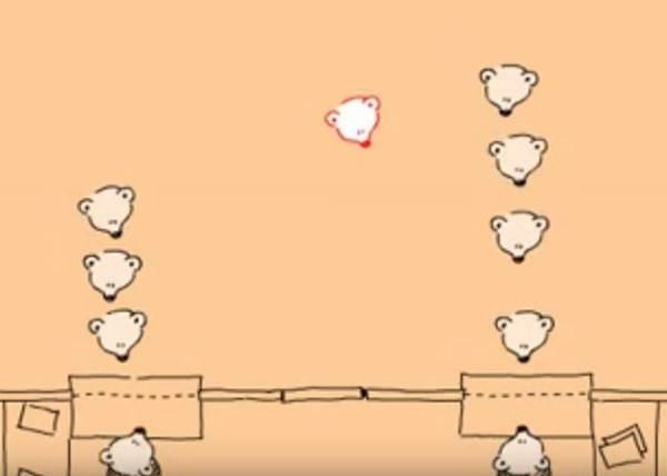 覺得人潮短的排比較快?用一分半的小熊動畫看出各種「排隊」百態!