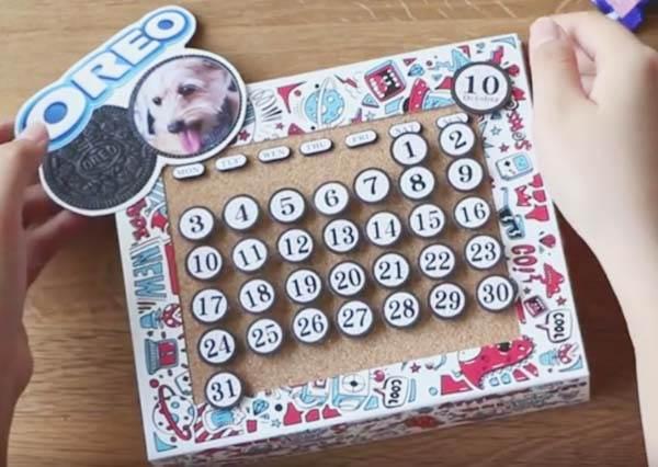 OREO 驚奇餅乾盒,創意改造計畫! 2 Ways of Creative OREO Boxes