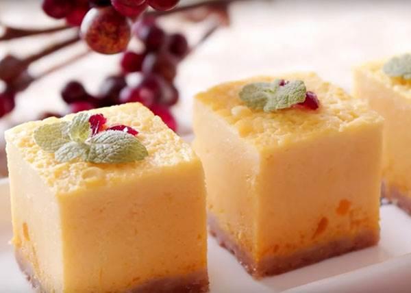 """「南瓜起司蛋糕」用""""蒸""""的竟然更好吃?!教你在家也能輕鬆作出柔滑系甜點"""