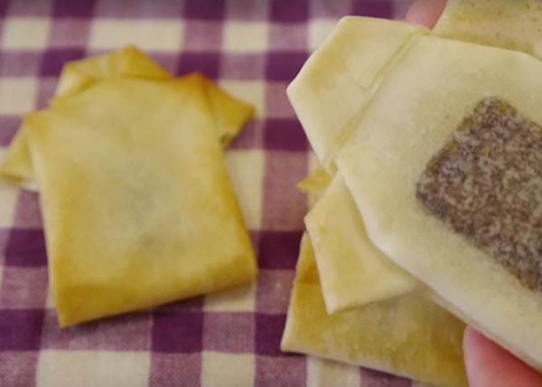 當勞作摺紙就OK!超有創意的「巧克力春捲酥」,竟然看過一次食譜就能上手!