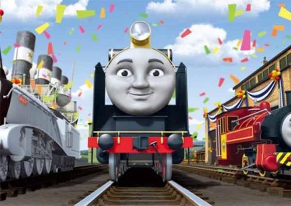 你從沒看過的湯瑪士小火車!30年來「阿湯哥」的意外鏡頭全都露