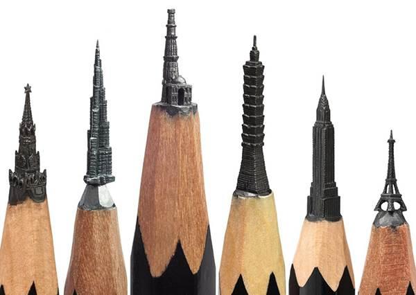 不要小看一支小小的鉛筆 它真的不只能拿來寫字