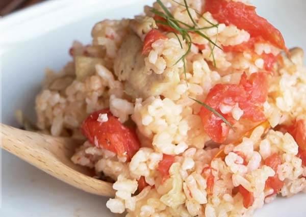 電鍋料理-蕃茄雞肉燉飯 Chicken Tomato Risotto