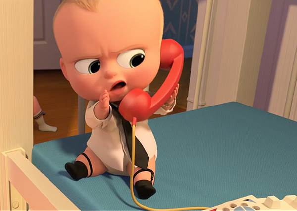 寶寶穿西裝合理嗎?夢工廠新片《寶貝老闆》3秒惹噴笑