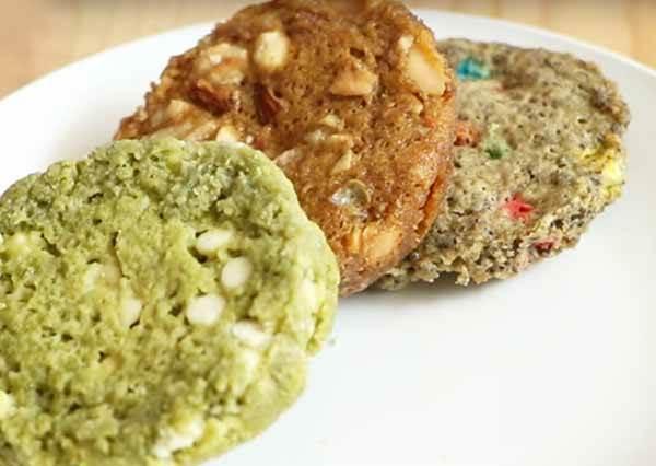 微波爐做餅乾,一分鐘搞定!One Minute Microwave Cookies