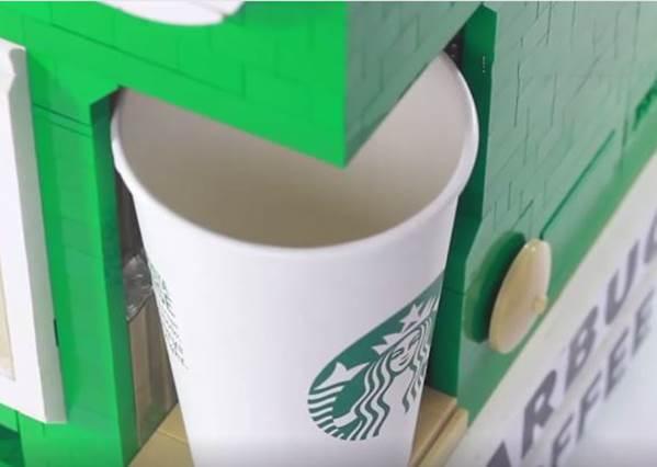 神改造樂高積木!投錢就能泡咖啡