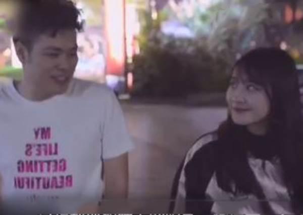 約會別穿白t-shirt?緊擁女友下一刻竟嚇傻