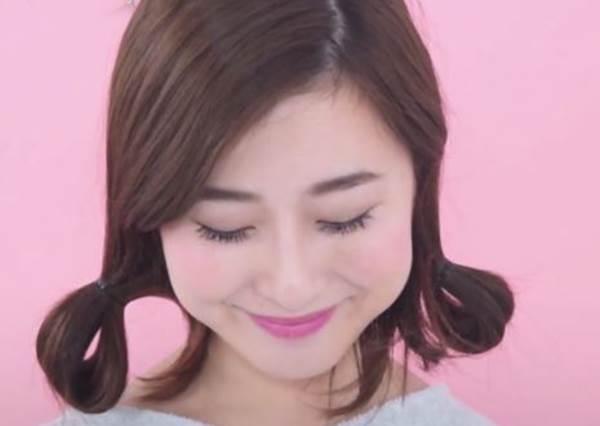 超簡單!長髮用髮帶輕鬆完成可愛鮑伯短髮