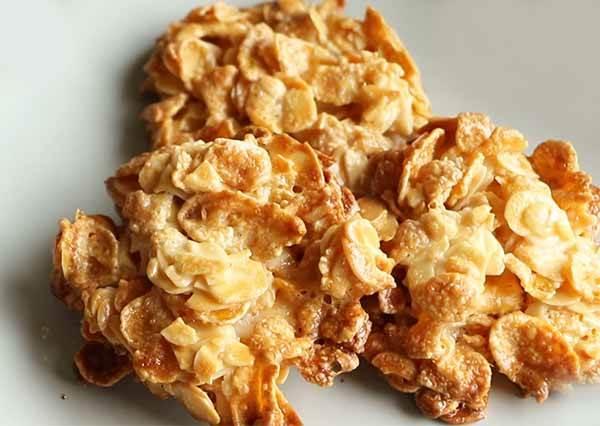 杏仁脆片餅乾 Almond & Corn Flakes Cookies