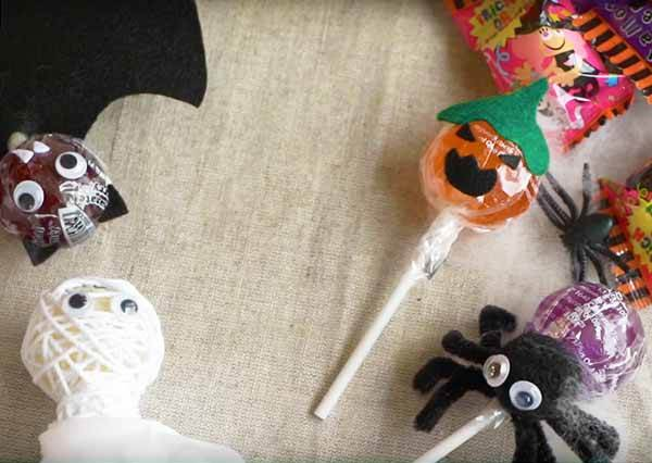 萬聖節搞怪棒棒糖 Halloween Lollipops
