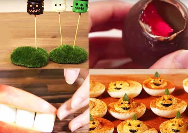 12種萬聖節鬼怪鬼怪DIY!Twelve Halloween Candy Recipes.