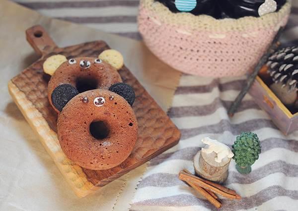 免油炸の零負擔甜甜圈,簡單幾步敲可愛大變身!
