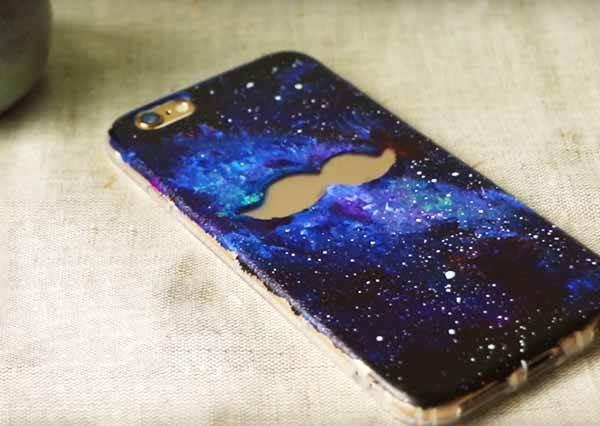 星空手機殼 DIY Galaxy Phone Case