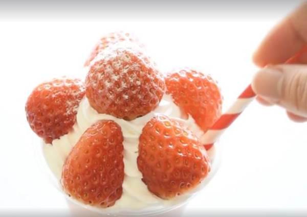 酸甜草莓優格奶昔!打造戀愛滋味只要4步驟