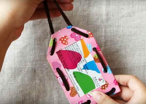 手作花布卡套 DIY Fabric Badge Holder