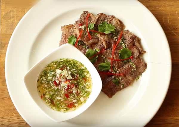 泰式叢林烤牛肉 Thai Style Grilled Beef